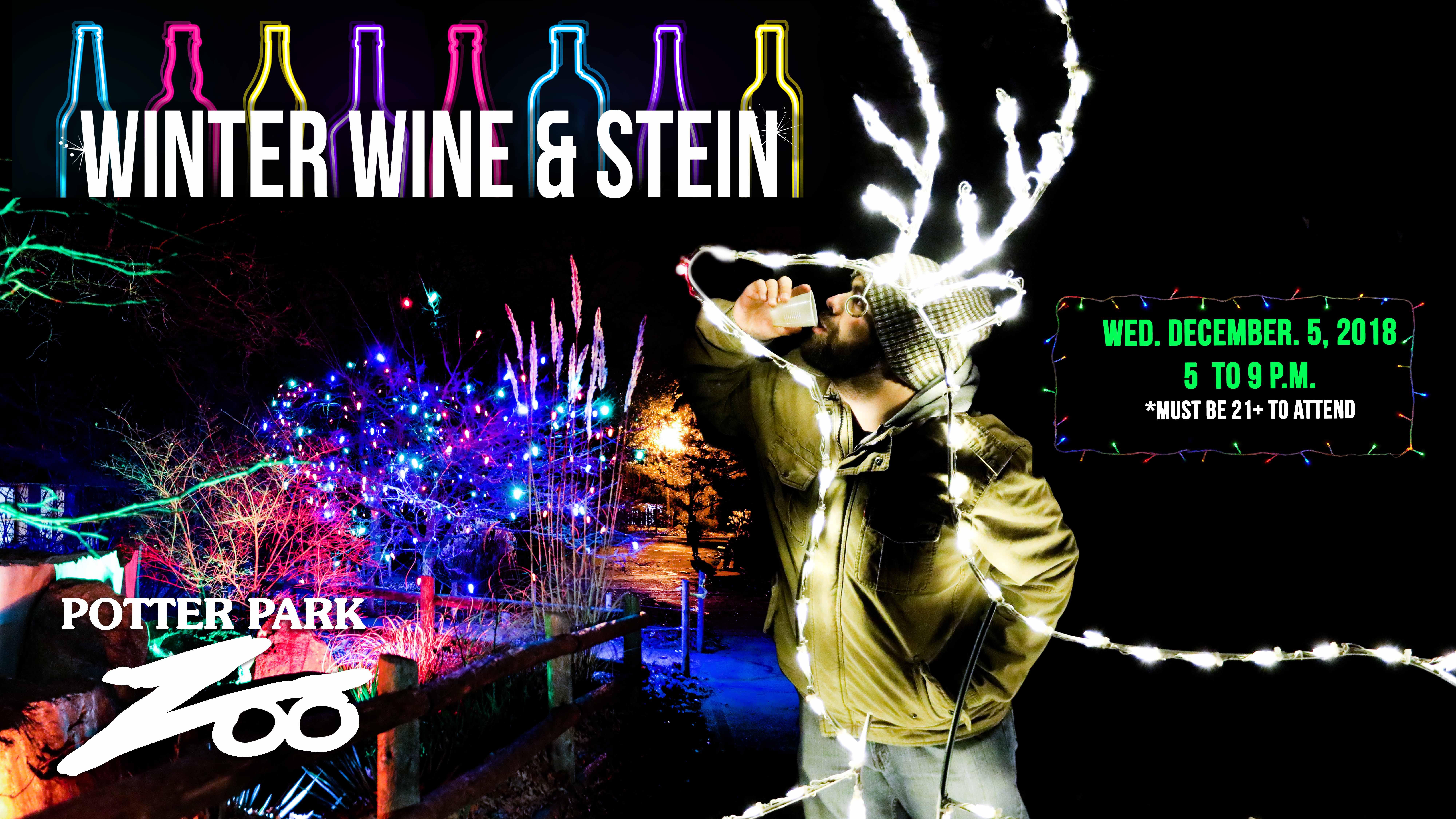 Winter Wine & Stein banner