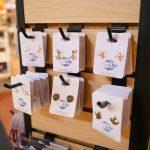 Earrings in the zoo gift shop