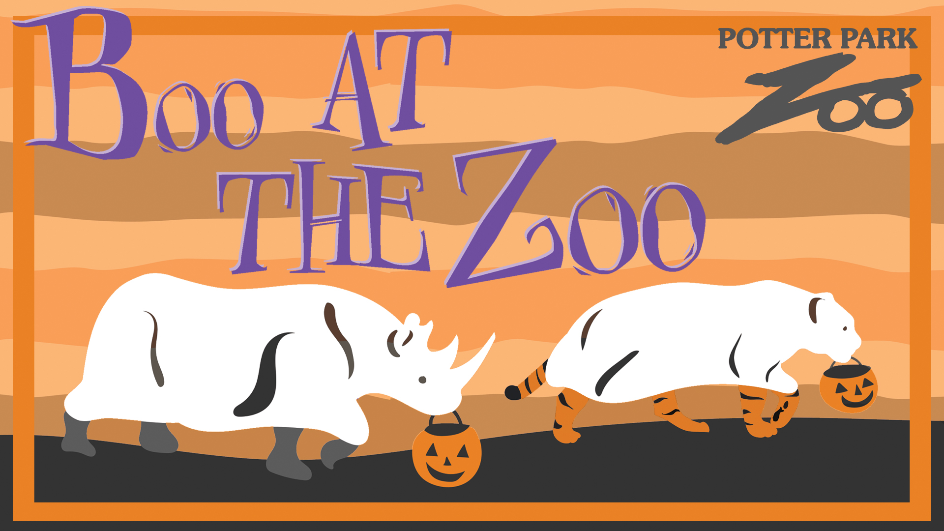 Boo at the Zoo banner
