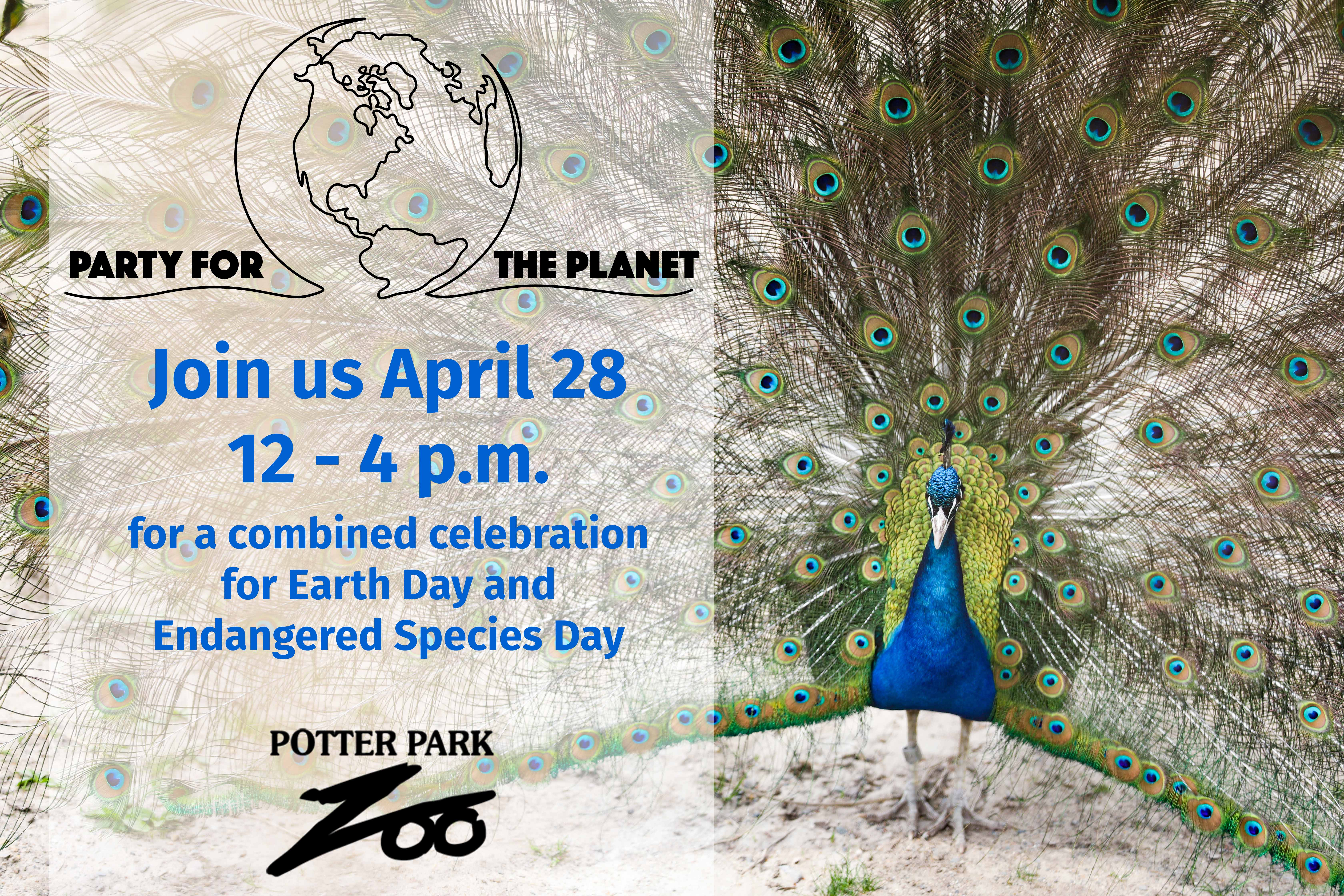 Party for The Planet banner