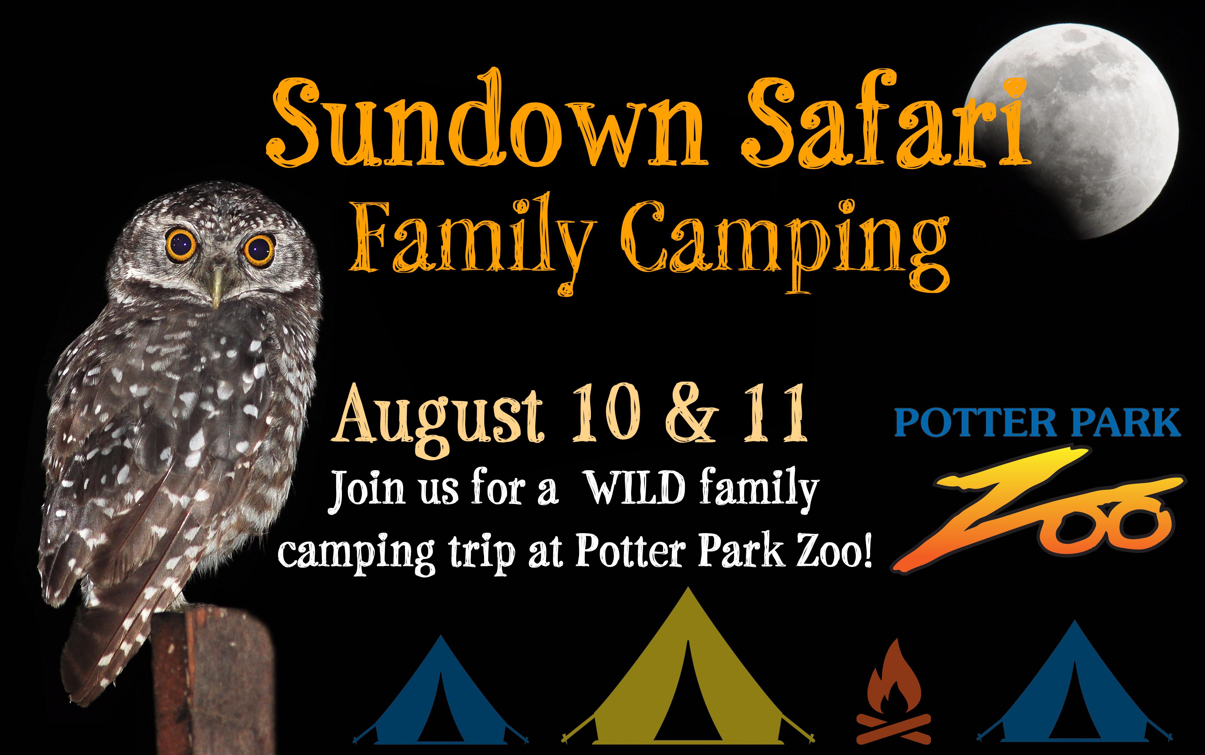 sundown Safari Family Camping banner