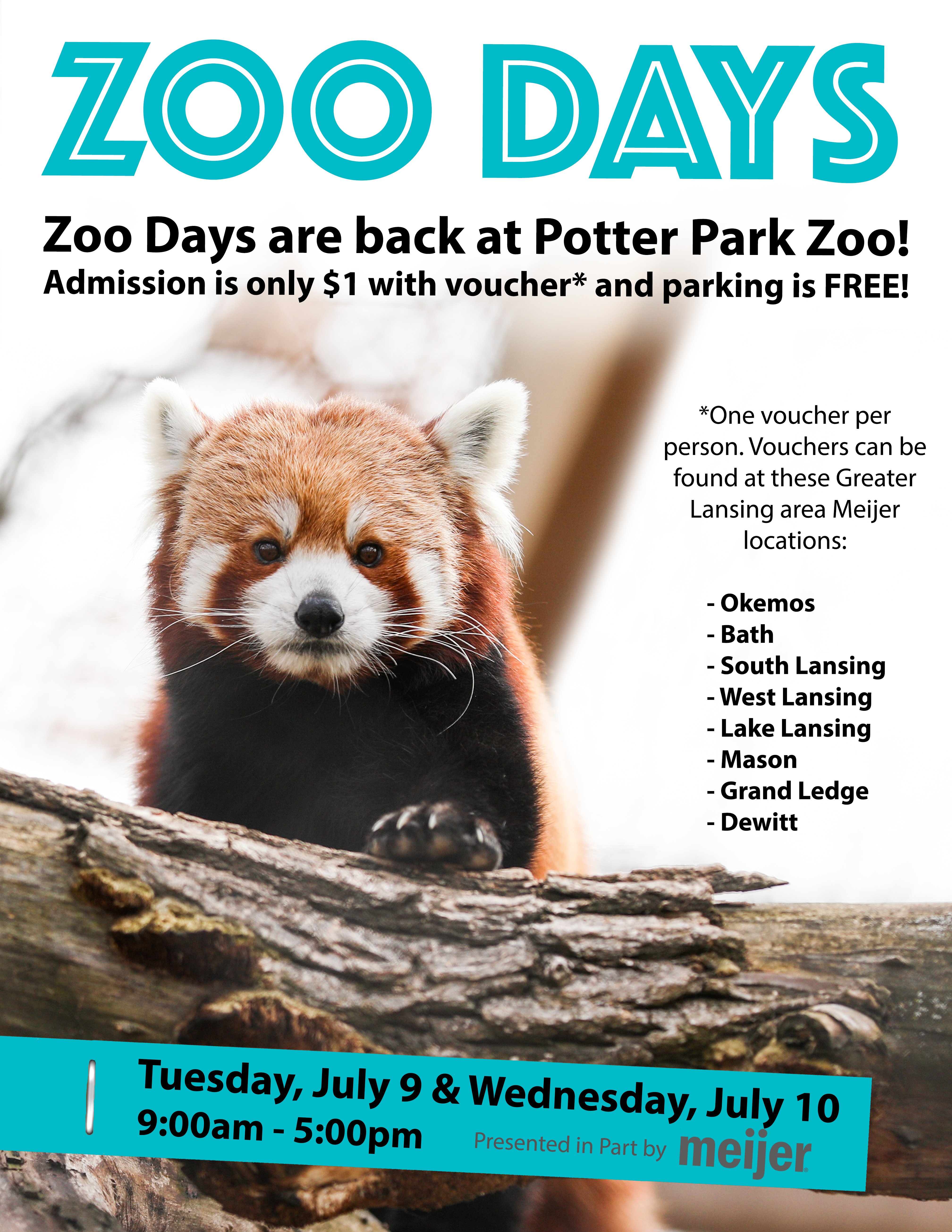 Zoo Days banner