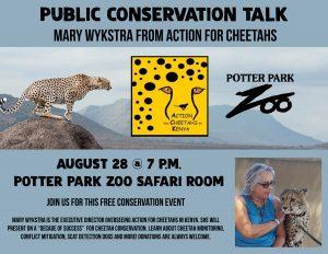 Public Conservation Talk banner