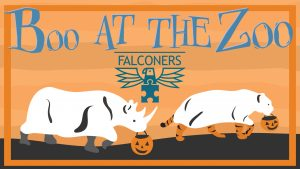 Boo at the Zoo Falconers banner